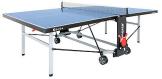Outdoor Tischtennisplatte mit Netz, Sponeta  S 5-72e / S 5-73e Grün oder Blau,