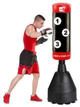 Sporteq Freistehend,Schwerbelastbar Boxen Boxsack,Kicking, Martialarts,Boxsack