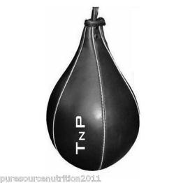 TnP Echtleder Boxbirne Punch Boxing Training Pfirsich Form Bag MMA