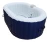 AQUAPARX Whirlpool AP-550SPA *oval 190x120cm* Pool 2Personen Wellness Jacuzzi Spa Whirlpoolzubehör Badewanne 2P Wanne Indoor Outdoor Heizung aufblasbar -