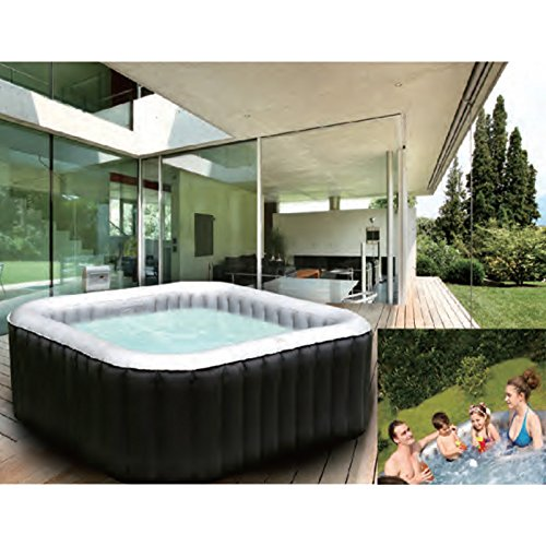 whirlpool in outdoor pool bubble spa test 2018. Black Bedroom Furniture Sets. Home Design Ideas