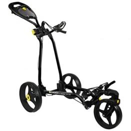 2014Masters Golf Icart 'Kalesche' Classic Plus 3Rad Golf Trolley/Cart, schwarz -