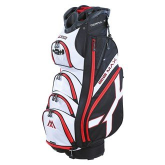 2015 Big Max Terra X Trolley/Cart Golf Bag 14 way Divider Black/White/Red -