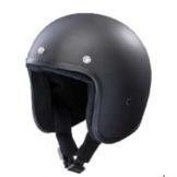 Bandit Helmets Jethelm mattschwarz, Sports-Farbe:matt schwarz;Größe:M(57-58cm) -