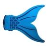Besmall Kinder Schwimmen Flossen Monofin Taucherflossen(Blau) -