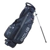 Big Max Aqua I-Dry 7 Golf Standbag - Golftasche - Ultraleicht & Wasserdicht (Schwarz/Dunkelgrau) -