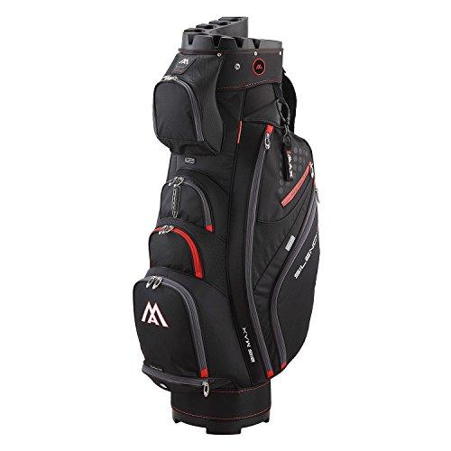 big max silencio 2 organizer golf cartbag 2017 schwarz. Black Bedroom Furniture Sets. Home Design Ideas