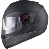 Black Optimus SV Motorrad Roller Klapphelm M Matt Black -