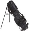 Bullet Golftasche halbsatz für bis zu 6 Schläger in schwarz NEU -