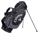Callaway 2017 X Series Stand Bag Mens Golf Carry Bag-6 Way Top Black/Charcoal/White -