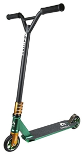 Chilli Pro 5000 Stunt Scooter 2014 110mm integrated Tret Roller Green-Gold -