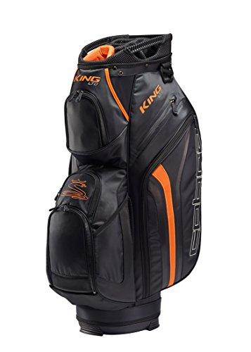 Cobra King Puma Cartbag / Golfbag schwarz orange Puma Golftasche, Farbe:Schwarz -