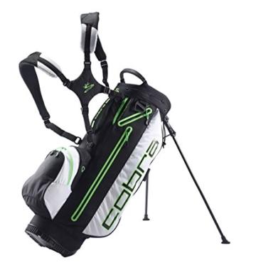 Cobra TEC F6 Stand Bag / Golfbag schwarz grün Puma Golftasche , Farbe:Schwarz -