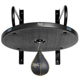 Everlast Punchingball-Gestell Hydrostrike, Plattform mit Punchingball/ Boxbirne, Grau -