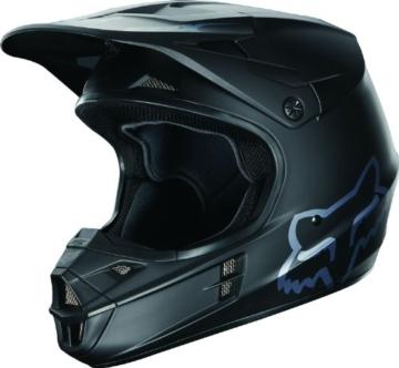 Fox Kids Helm V1 Race Schwarz Gr. S -