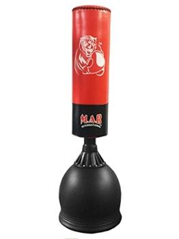 Freistehend Boxen und Boxsack-Ständer Heavy Duty Martial Arts MMA Schnelle Lieferung Rot/Schwarz Farbe Boxsack -