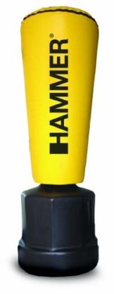 Hammer Standboxsack Impact Punch, gelb, 55x162/177/192 cm -