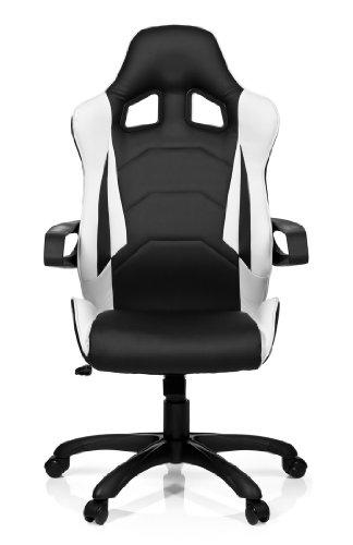 hjh office 621836 gaming pc stuhl racer pro i test 2018. Black Bedroom Furniture Sets. Home Design Ideas