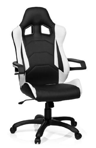 hjh office 621836 gaming pc stuhl racer pro i test 2019. Black Bedroom Furniture Sets. Home Design Ideas