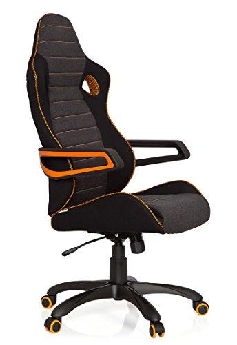 hjh office 621850 gaming pc stuhl racer pro iv test 2018. Black Bedroom Furniture Sets. Home Design Ideas