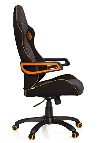hjh office 621850 gaming pc stuhl racer pro iv test 2018. Black Bedroom Furniture Sets. Home Design Ideas
