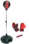 HUDORA Punchingball Set mit Boxhandschuhen & Pumpe - Boxsack-Set - 74501/01 -