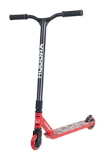 HUDORA Stunt-Scooter XQ-13, rot - 14026 - Freestyle Tretroller -