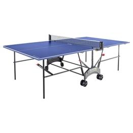 Kettler Tischtennisplatte AXOS Outdoor 1 - Farbe: Blau und weiß - TT-Tisch für draußen - Qualität MADE IN GERMANY - Tischtennistisch für den Garten - Artikelnummer: 07047-950 -