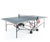 Kettler Tischtennisplatte AXOS Outdoor 3 - Farbe: Grau und gelb - TT-Tisch für draußen - Qualität MADE IN GERMANY - Tischtennistisch für den Garten - Artikelnummer: 07176-950 -