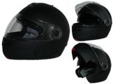 Klapphelm H910 matt-schwarz mit integrierter Sonnenblende - M -
