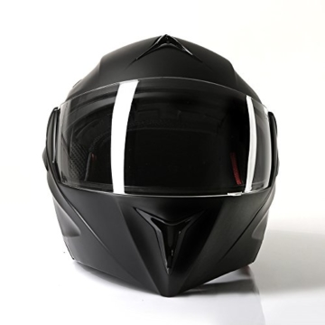 Klapphelm Integralhelm Motorradhelm CMX Vader matt schwarz -