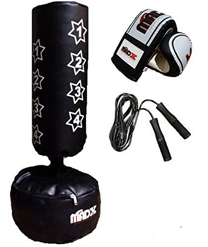 madx boxsack f r kinder freistehend inkl handschuhen. Black Bedroom Furniture Sets. Home Design Ideas