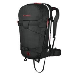 Mammut Erwachsene Ride Removable 3.0 Ready Lawinenrucksack Ohne Airbag, Black, 29 x 20 x 60 cm -