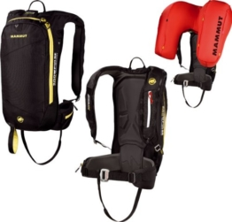 Mammut Lawinenairbag Rocker Protection Airbag, Black-Yellow, 50 x 25 x 20 cm, 2610-00741-0073 -