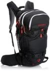 Mammut Lawinenrucksack Ride Removable Airbag, Black/Fire, 29 x 23 x 50 cm, 22 L, 2610-01100-0055-122 -