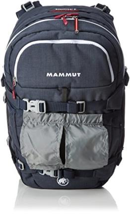 Mammut Lawinenrucksack Ride Short Removable Airbag, Dark Space/White, 29 x 23 x 50 cm, 28 L, 2610-01120-5621-128 -