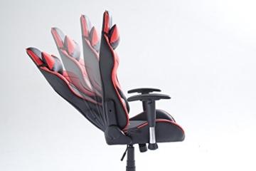 mc racing 5 gaming stuhl kunstleder pvc test 2018. Black Bedroom Furniture Sets. Home Design Ideas