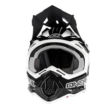 O'Neal 2Series RL MX Helm Manalishi Schwarz Weiß Motocross Enduro Quad Cross ABS, 0200-00, Größe L (59/60 cm) -