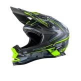 O'Neal 7Series EVO CAMO MX Helm Gelb Schwarz Motocross 712, 0583O-8, Größe Large (59 - 60 cm) -