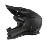O'Neal 7Series EVO MATT MX Helm Schwarz Enduro Offroad, 0583M-40, Größe Large (59 - 60 cm) -
