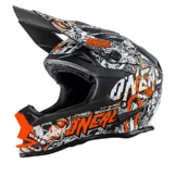 O'Neal 7Series EVO MENACE MX Helm Matt Neon Orange Enduro Offroad, 0583M-30, Größe Large (59 - 60 cm) -