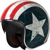Origine helmets Jethelme Sprint Rebel Star, Mehrfarbig, Größe L -