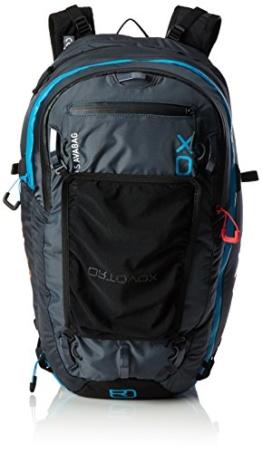 Ortovox Erwachsene Ascent 28 S Avabag (Incl Unit) Skitourenrucksack, Black Anthracite, 54 x 24 x 18 cm -