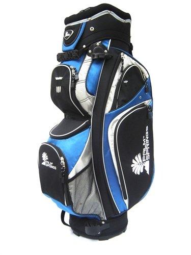 palm springs golf trolleybag mit 14 fach unterteilung blau. Black Bedroom Furniture Sets. Home Design Ideas