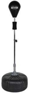 Pro Punching Stand / Standbox-Trainer höhenverstellbarer Boxstand inkl. PU Punchingball schwarz BCA-76 -