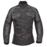 ROLEFF RACEWEAR Motorradjacke Reno RO 70i, schwarz/grau, L, 7014 -