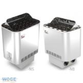 Saunaofen Nordex 6kW mit integrierter Steuerung -