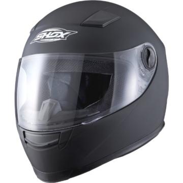Shox Sniper Solid Motorrad Helm M Schwarz Matt -
