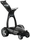 Stewart Golf Erwachsene Trolley X9 Follow, Metallic Schwarz, X9F-8108 - UK/EU -