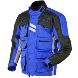 Stilvolle blau Motorradjacke textilien Motorrad Jacke Cordura Motorcycle Jacket -
